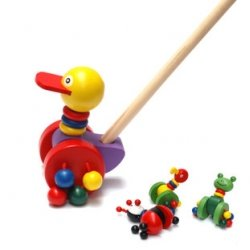 Wooden Push Toys, Wooden Educational Toys
