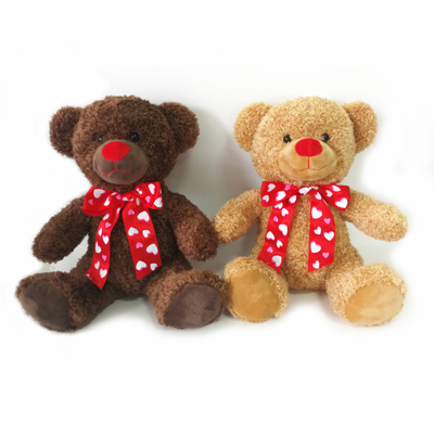OEM Valentine Day Romantic Stuffed Plush Teddy Bear with Tie