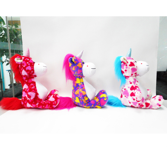 Lovely Soft Valentine Toys Animal Stuffed Toys Plush Unicorn Toys
