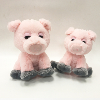 Custom-made Cute Soft Pink Stuffed Pig