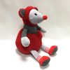 Stuffed Red Plush Mouse Toys for Valentines Day Gifts