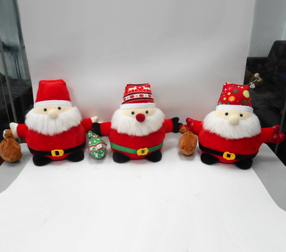 Lovely Soft Material Cartoon Santa Claus Stuffed Plush Toy