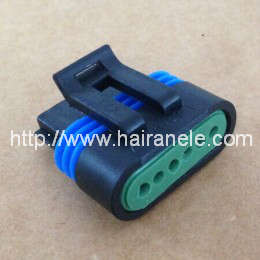 Delphi 6p sealed male connector housing and contact 12066317