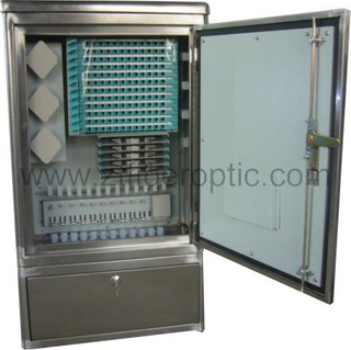 FTTH 144fibers SMC Telecommunication Cabinet