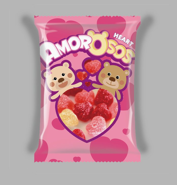 Valentine Mini Heart Gummy Candy