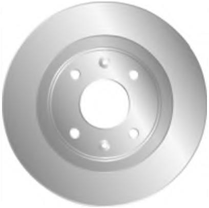 Brake disc for RENAULT