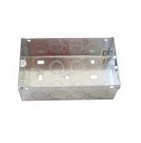 Switch and Socket Box Metal Box 3X6