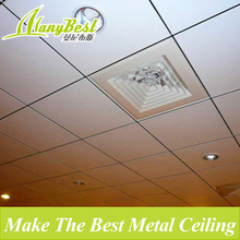 595*595 Modern Acoustic Aluminum Suspended Roof Ceiling Tile