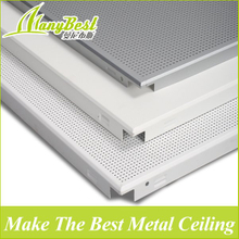 60*60 Clip in Aluminum False Plain Perforated Ceiling panel