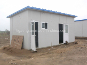 ISO Certificate Low Cost Good Quality Prefabricated House for Living