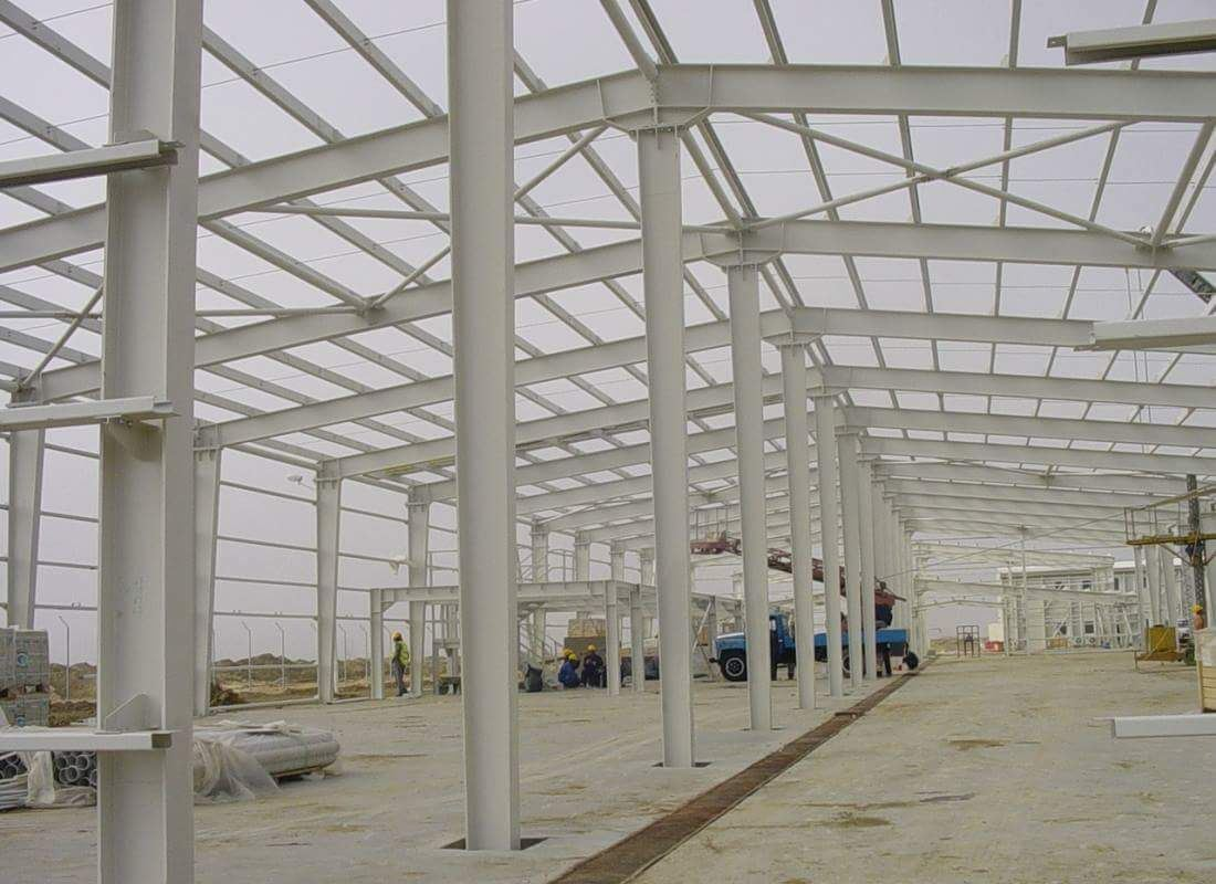 Factory Price Heavy Structure Workshop/ Steel Structure in South Africa