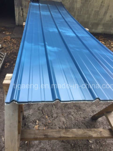 Fire Resistance Metal Roofing Anti Corrossion Corrugated Steel Sheets