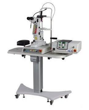SLY9000 YAG Laser with argon laser together