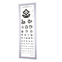 WH 0205 5M led distance visual acuitry chart light box for child