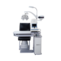 RS600-2 Combined Table Ophthalmic Unit with Trial Lens Set Drawer