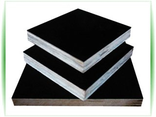 Black Film Faced Plywood-Poplar Core 18mm Thickness