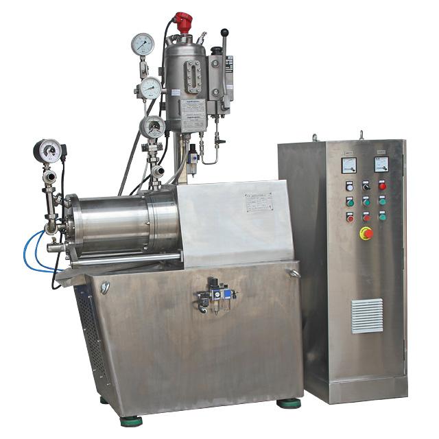 水牛闪电appZM-K系列6L纳米双机封棒销式卧式砂磨机