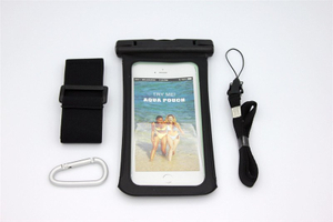 Universal PVC Floating Waterproof Bag for 5.5inch Mobile Phone