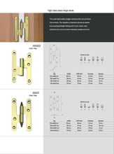 Hinges Material : Brass (4)