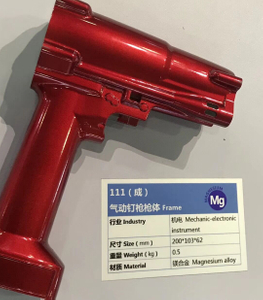 Magnesium Die Casting Powder Coated Frame for Pneumatic Tools