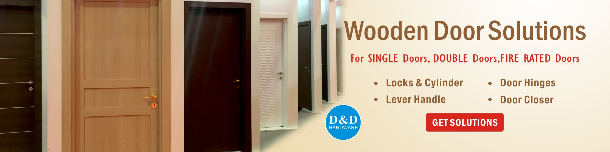 Wooden Door Solutions-D&D hardware