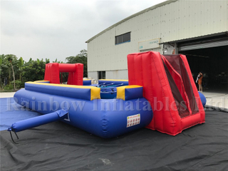 RB10005(8x5x2.2m) Inflatable human table football/ inflatable footaball field game/inflatable football field