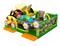 RB01039 (8x6m)Inflatable Bee Funcity Bouncer Obstacle Bouncer with Slide