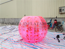 RB33007-3(1.8m)Inflatable Pink color body bumper ball for adult