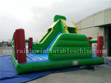 New Arrival Big Commercial Inflatable High Slide for Children
