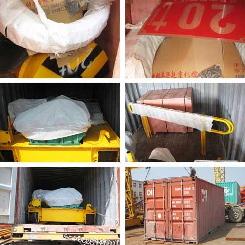 2 комплекта вагонетка 2 20 тонн электрическая
