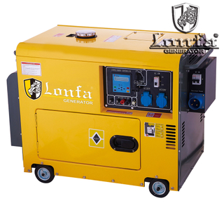 ELECTRIC DIESEL GENERATOR PORTABLE SILENT (LF7800/9000DSE-A)
