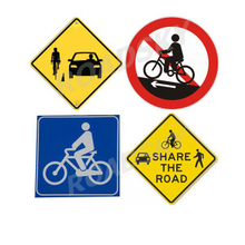 Reflective Road Traffic Safety Signs