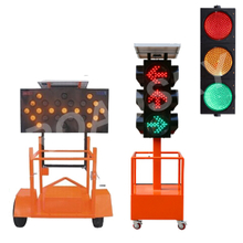 High Brightness Led Trailer Mounted Arrow Boards On Sale