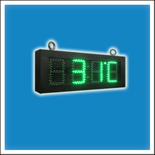 5 Inches Digit Outdoor LED Time & Temp Clock Sign
