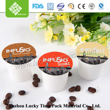 Top quality PP plastic k-cup coffee maker capsule