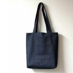 Custom Large Denim Tote Bag