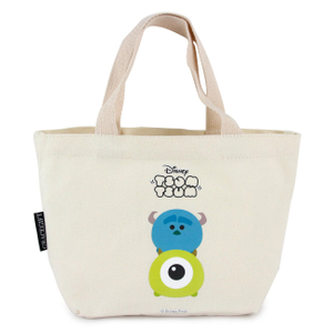 Personalized Monsters University canvas lunch bag