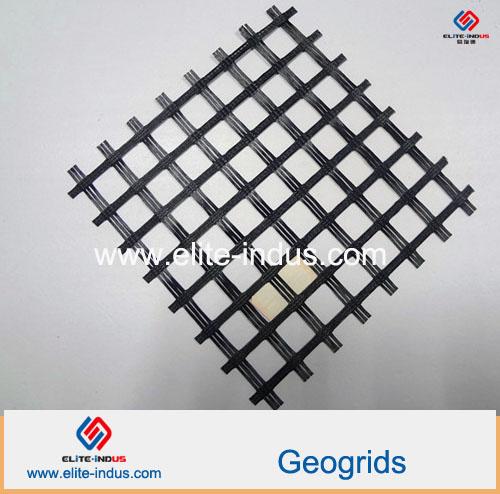 glassfiber Fiberglass Geogrid