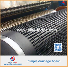 HDPE Composite Dimple Geomembrane Drainage Board