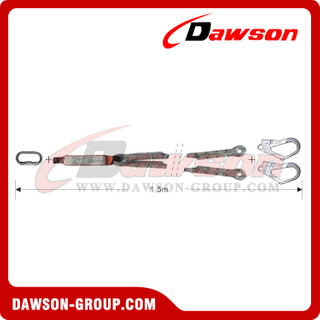 DS6112 Energy Absorbers Lanyards Safety Lanyards EN355 EN354