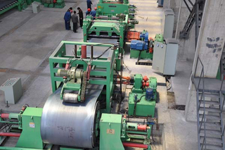 coil cut to length line machine