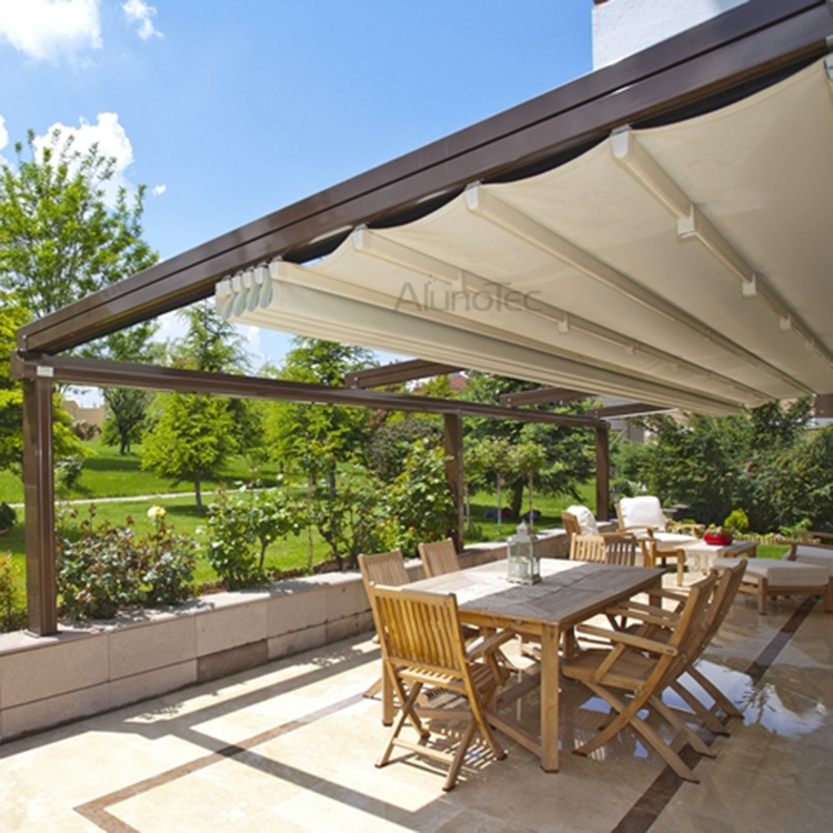 ... PVC Retractable Roof Aluminum Pergola. Share To:
