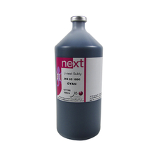 1000ml Color Cyan J-TECK Dye Sublimation Ink Digital Inks in Bottles for Roland/Mimaki/Mutoh