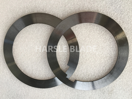 Metal slitting machine steel shims