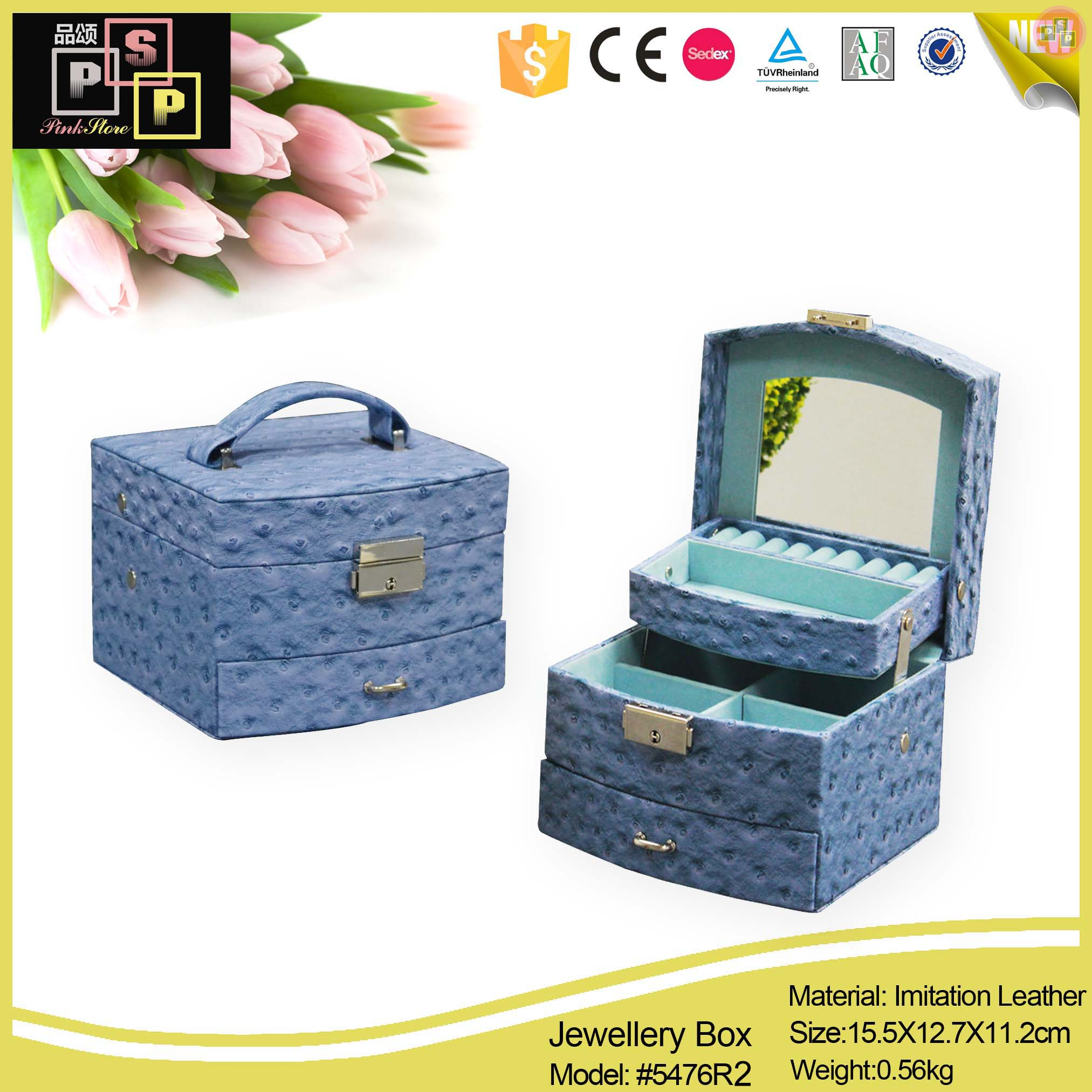 custom jewelry box manufacturers from China Manufacturer
