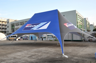 Custom Full Color Dye Sublimation Printing Outdoor Event Spider Tent, Star Marquee Display, Custom Spdier Shape Gazebo