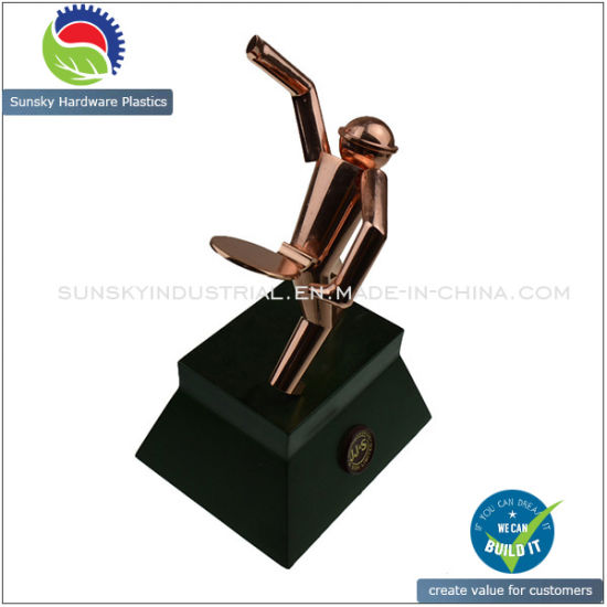 Hot Selling Die Casting for Golden Coating Wine Bottle Holder