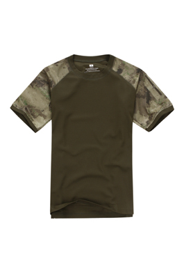 Army Tactical T-Shirt with Collar