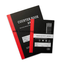 A4 A5 Counter Book Manuscript Book 192 Pages Avec Couverture Rigide Avec Reliure Cousu