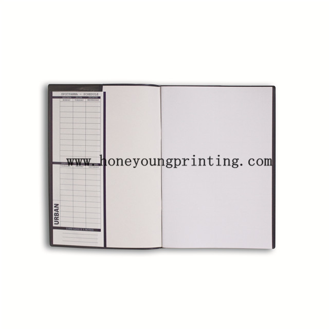 PVC jacket 8mm ruled line staple binding exercise book